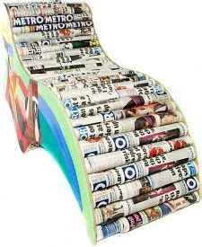 Newspaper Chair by 1000 Images About Newspaper Chair Walls On