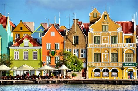 Iconic Architecture a walk through colorful willemstad curacao