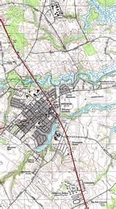 maps of smyrna topographic city map delaware united