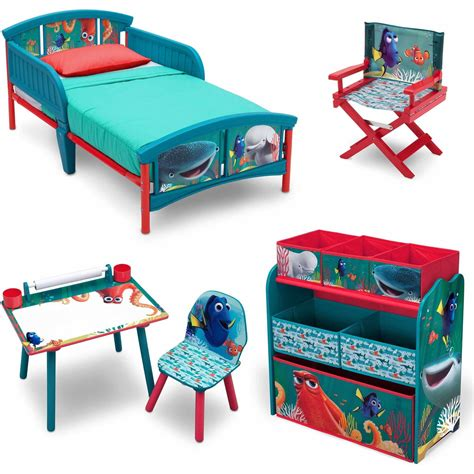 bedroom in a box walmart disney finding dory room in a box with bonus chair bedroom