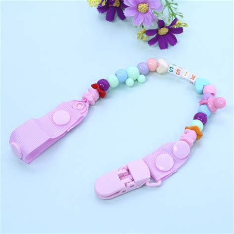 Promo Empeng Dodo Soother With Holder new baby pacifier clip pacifier chain made colourful dummy clip baby soother