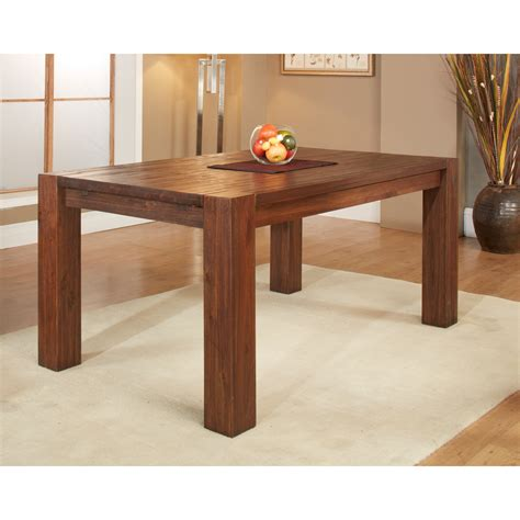 solid wood extending table modus meadow solid wood extending dining table brick