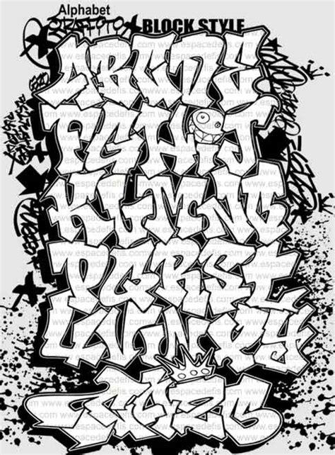 lettere stile graffiti block style font graffiti alphabet letter a z at graffiti