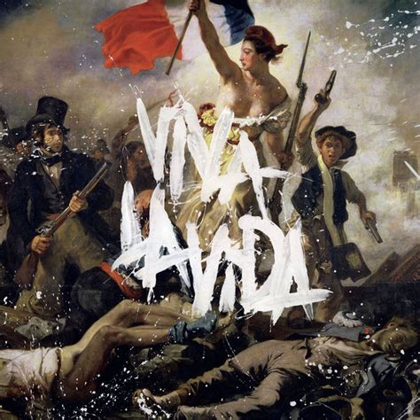 coldplay cover viva la vida or death and all his friends album cover by