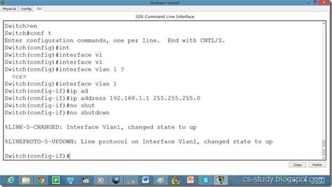 easy learning telnet  ssh  packet tracer