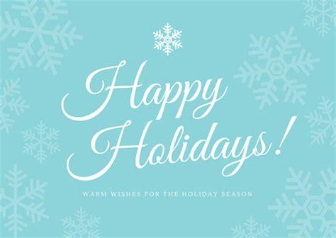 happy holidays company greeting postcard templates  canva