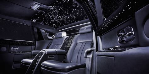 roll royce car inside rolls royce phantom starlight headliner business insider