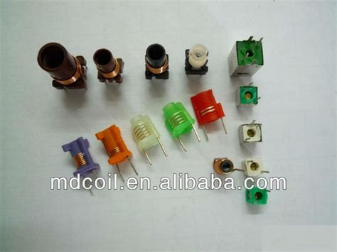 variable capacitor and inductor adjustable inductor variable molded coil buy adjustable
