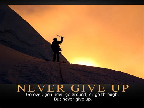 never give up never give up alyssia kirkhart