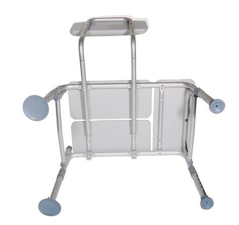 bathroom safety equipment padded seat transfer bench model 12005kd 1 family