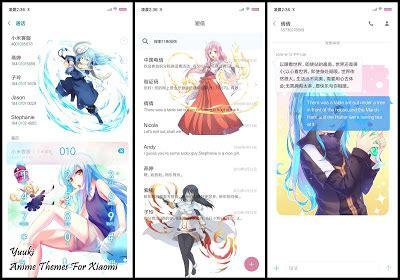 anime themes  xiaomi