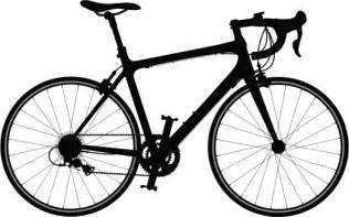 Road Bicycle Outline by Road Bike Clip Clipart Best