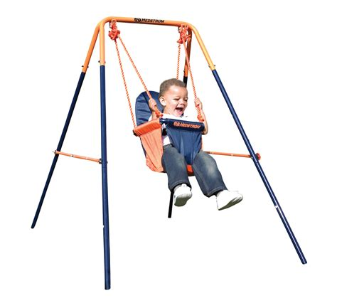 swing by swing folding toddler swing hedstrom