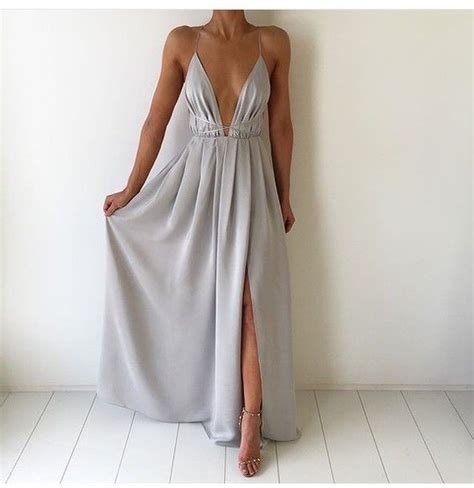 Xy61763 V Neck Chiffon Dress Gray 17 best ideas about v dress on v