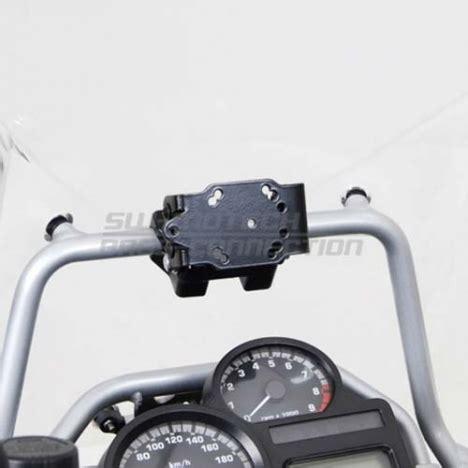 Antivol Moto 637 by Support Gps Sw Motech Pour Bmw R 1200 Gs Adventure 2008 224