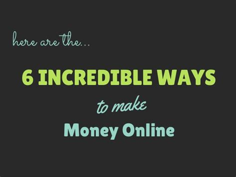 How Cani Make Money Online - how can i make money online