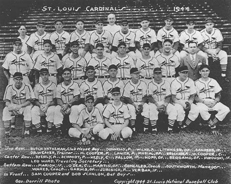 st l 1944 the 1472816935 thedeadballera com 1944 st louis cardinals team photo
