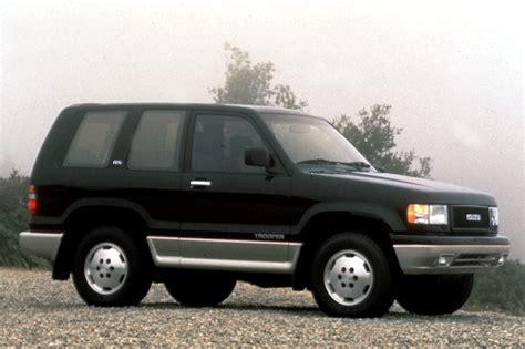 how petrol cars work 1992 isuzu trooper on board diagnostic system 1992 02 isuzu trooper consumer guide auto