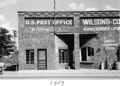 Wilson Post Office by Historical Buildings Blythewood History