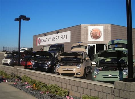kearny mesa fiat temporary storefront photo new car showroom
