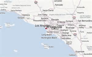 el segundo california map el segundo location guide