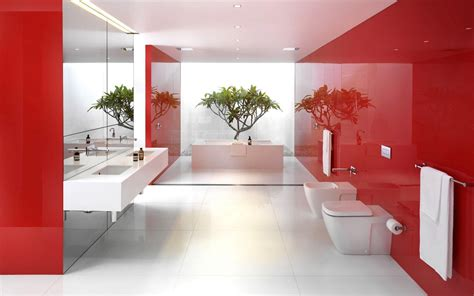 red bathroom ideas home design inside best design ideas of office interior with white red colors