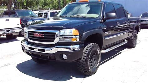 how petrol cars work 2006 gmc sierra 2500hd engine control 2006 gmc sierra 2500hd 4x4 duramax turbo diesel 6 6l lbz allison trans 6 speed youtube