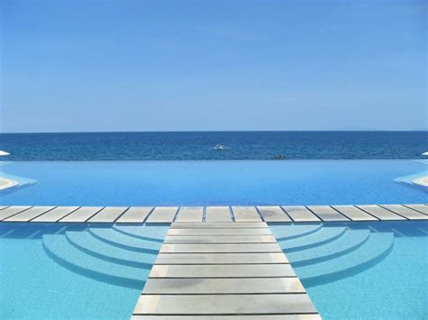 Infinity Pool In Laiya Batangas Review Acuatico Resort Laiya San Juan Batangas That