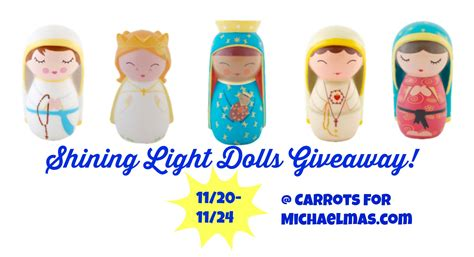 Shining Light Dolls by Baby Friendly Saintly Gifts Shining Light Dolls Giveaway