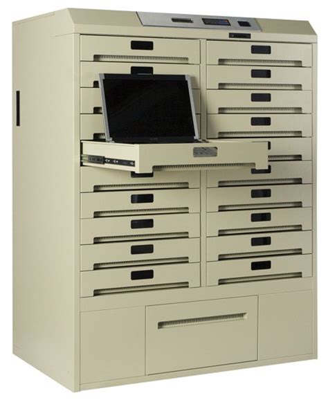 Computer Storage Cabinet Laptop Storage Cabinet Luxor Laptop Computer Workstation And Storage Cabinet 43 1 2 X20 1 2