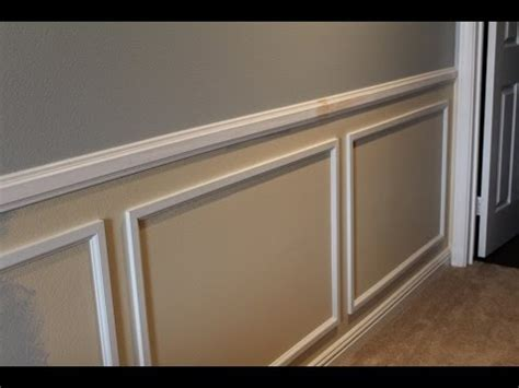 Wainscot Chair Rail by Wainscot Installation Tips
