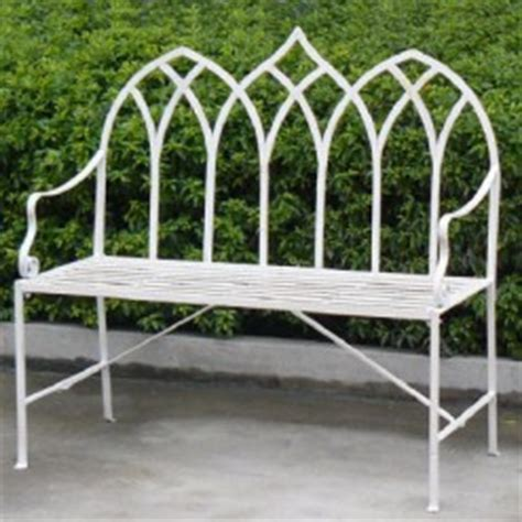 gothic garden bench best metal garden furniture online ascalon design garden