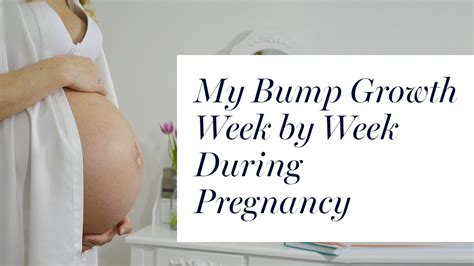 Starting To Bump Again by My Baby Bump Growth Week By Week Time Lapse