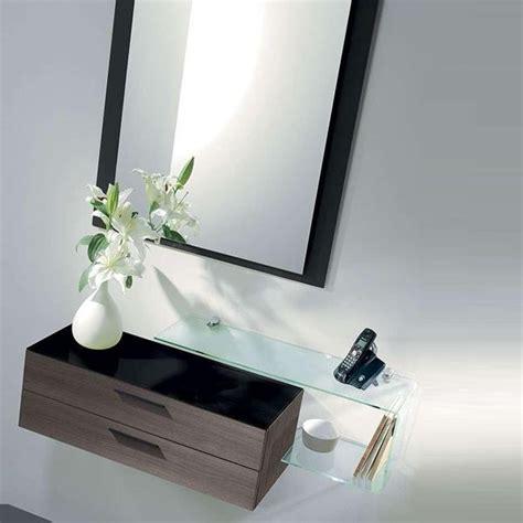 specchio con mensola ingresso flexi mobile da ingresso con specchio due cassetti e
