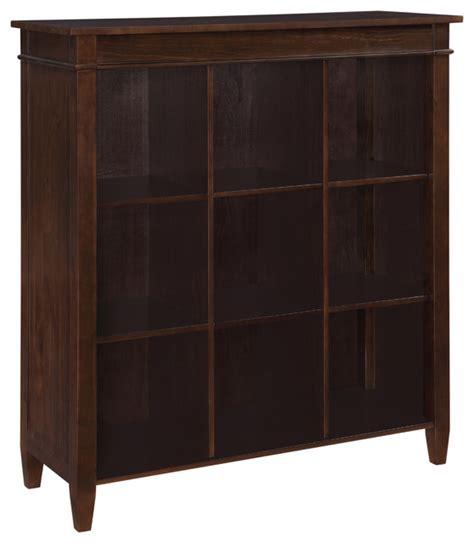 55 inch wide bookcase carlton 44 inch wide nine cube bookcase storage in