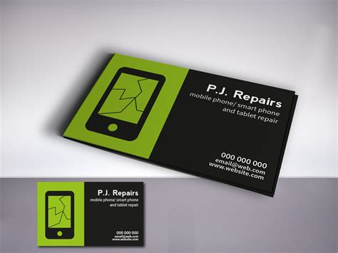 cards in excellent cell phone business card images business card