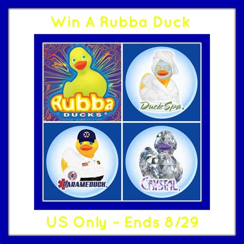welcome to the rubba duck giveaway it s free at last - Ducks Giveaways