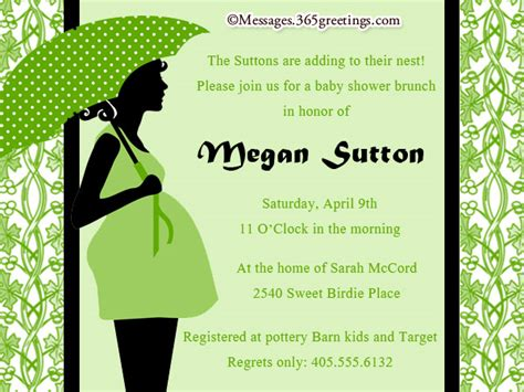 baby shower messages for invitations custom baby shower invitations 365greetings