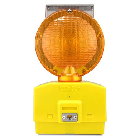 Eecolite Ii Solar Powered Barricade Light Amber Solar Barricade Lights