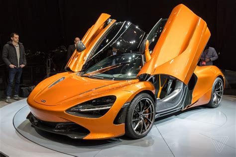 mclaren 720s mclaren s top priorities with the new 720s aerodynamics