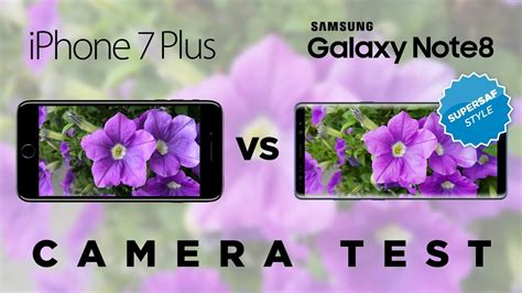 galaxy note   iphone   camera test comparison youtube