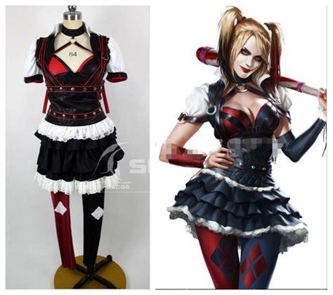 Handmade Harley Quinn Costume - custom made batman arkham asylum harley quinn