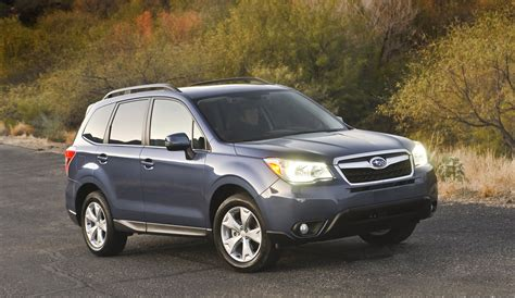 2014 subaru forester vehicle to ace iihs safety test