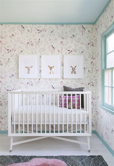 Crib Wallpaper by Sophisticated For Baby S Nursery Shop Our Charming Collection Of Baby Animals At The Animal