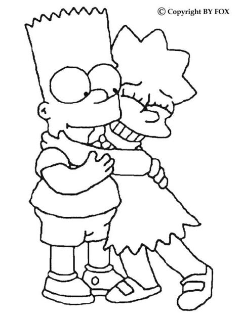 simpsons house coloring page simpsons coloring pages to print coloring home