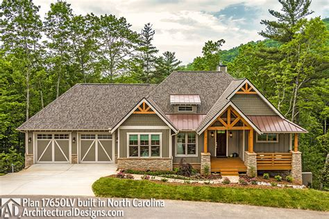 house plans nc house plan 17650lv built in north carolina