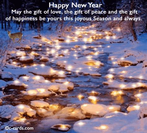 lights  hope  happy  year ecards greeting cards
