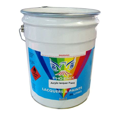 Acrylic Lacquer Paint