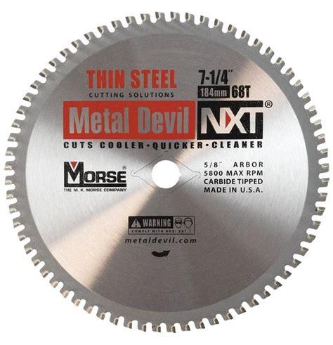 Metal Devil Csm72568tsc Circular Saw Blade 7 1 4 In Dia X