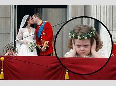 Newest Internet Meme: Royal Wedding Flower Girl Upstages ... Kate Middleton Wedding Party